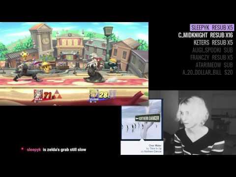 Narcissa (Zelda) vs Vash (Cloud)