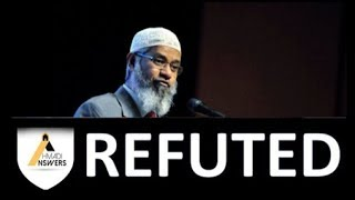 Dr. Zakir Naik REFUTED by Ahmadi Muslim (Qadiani)