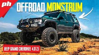 OFFROAD MONSTRUM na 37incha: Jeep Grand Cherokee 4.0 ZJ