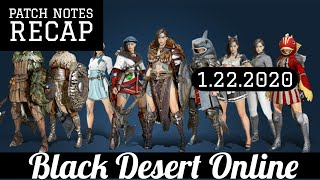 Black Desert Online [BDO] New Class Release, Drop Rate Buff, Energy Wine Nerf, Patch Notes Recap