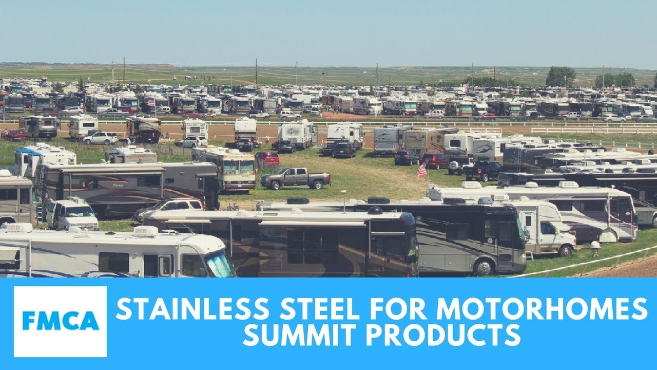Summit Products: Stainless Steel for Motorhomes