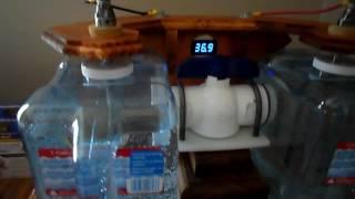 Homemade water ionizer getting 10.2 ph reading