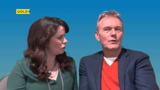 Anthony Head & Eve Myles | Why is the show so funny? | You, Me & Them
