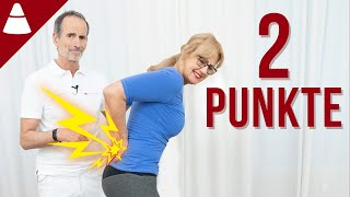 Drücke diese 2 Punkte und deine Rückenschmerzen verbessern sich!