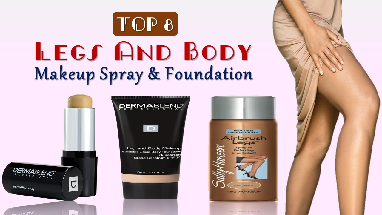 Legs And Body Makeup Best Legs And Body Makeup Spray Foundation