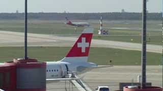 Flughafen Tegel TXL/EDDT (Startabbruch?),eine Boeing 737-700 der Air Berlin bricht den Start ab!