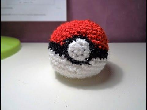 Gotta Catch Em All How To Crochet A Pokball Youtube