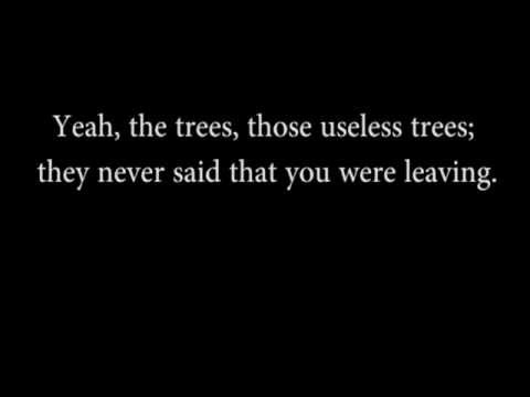 Pulp - The Trees Lyrics