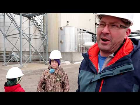 Touring a corn ethanol plant!