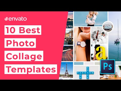 10 Best Photo Collage Templates for Photoshop [2020]