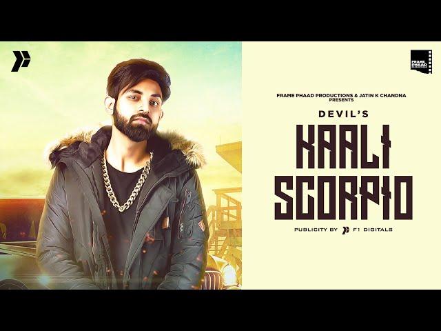 New Punjabi Song 2021 | Kaali Scorpio - Devil | Latest Punjabi Song 2021