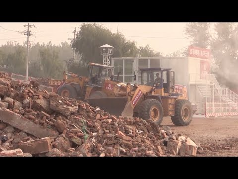 Beijing Recycles Construction Wastes to Build Road
