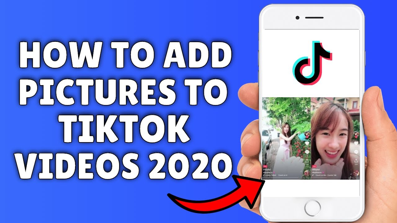 How To Add Pictures To Tiktok Videos 2020 How To Make Tik Tok Videos With Photos Youtube