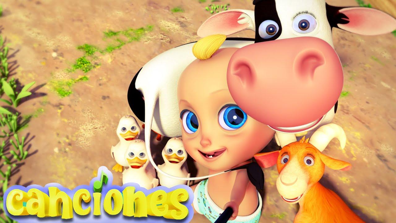 🐮La Vaca Lechera | CANCIONES INFANTILES | LooLoo | canciones para bebés