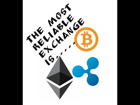 The most reliable crypto exchange is...