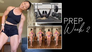 Week 2 of Figure Prep. Fails. One month post injury training video.