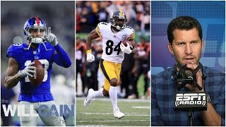 Top 10 NFL wide receivers from Will Cain   The Will Cain Show