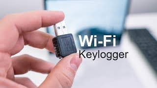 This Wi-Fi Keylogger Sends You E-Mails!
