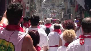 Música por las calles San Fermín 2015 - parte 1. Music on the streets. San Fermín 2015. Part 1