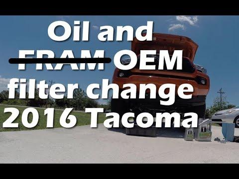 2016 Toyota Tacoma 15,000 Mile Oil Change