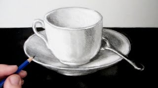How to Draw a Still Life: A Cup and Saucer