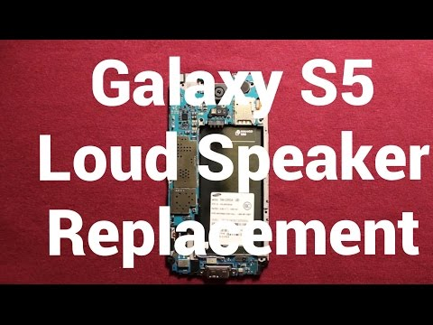 Galaxy S5 How To Change The Loud Speaker - Replacement