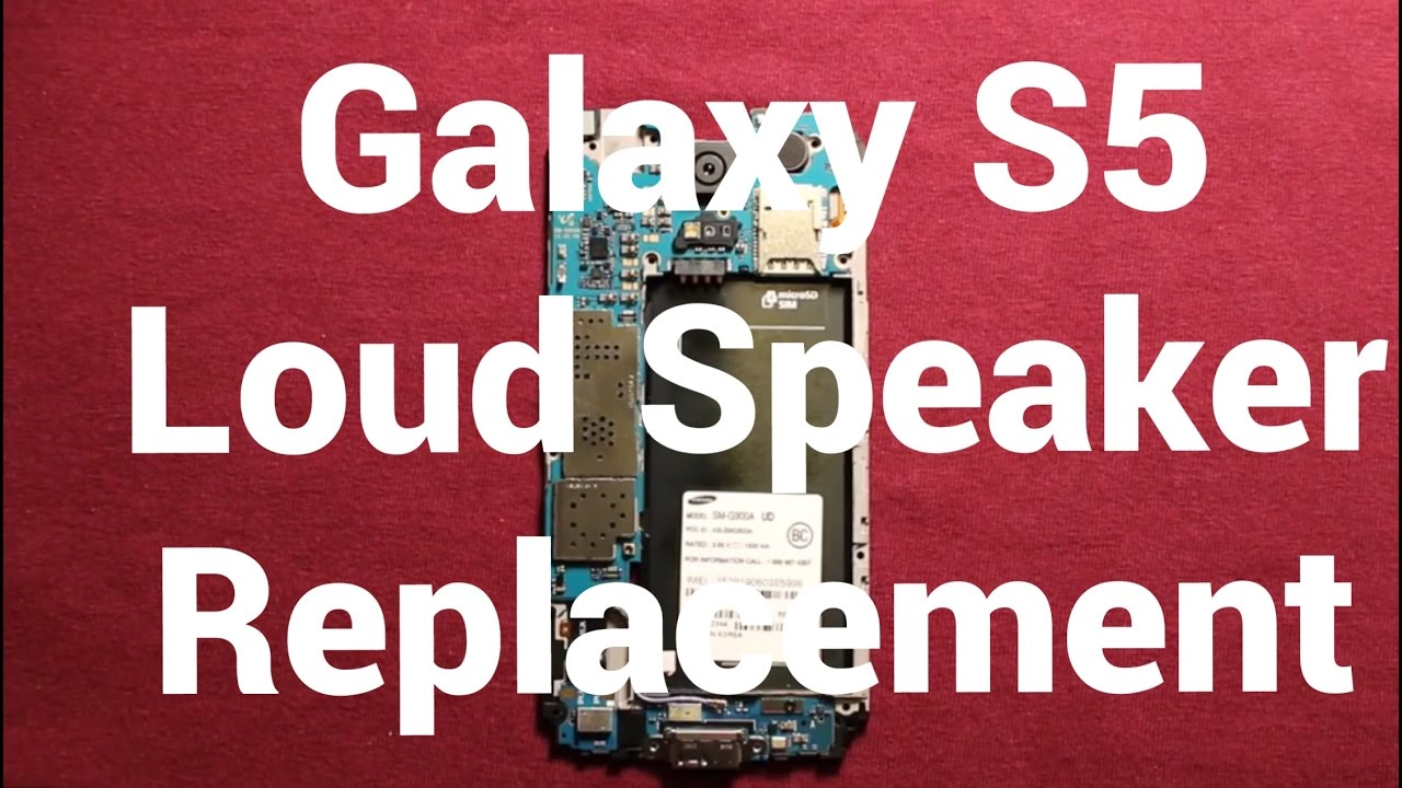 Galaxy S9 How To Change The Loud Speaker - Replacement