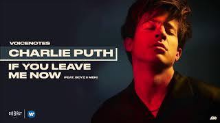 Charlie Puth If You Leave Me Now