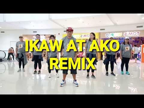 Ikaw at Ako Remix | Moira and Jason | Dj Sandy | Batang Ninetees | Team Bruha | Zumba Fitness