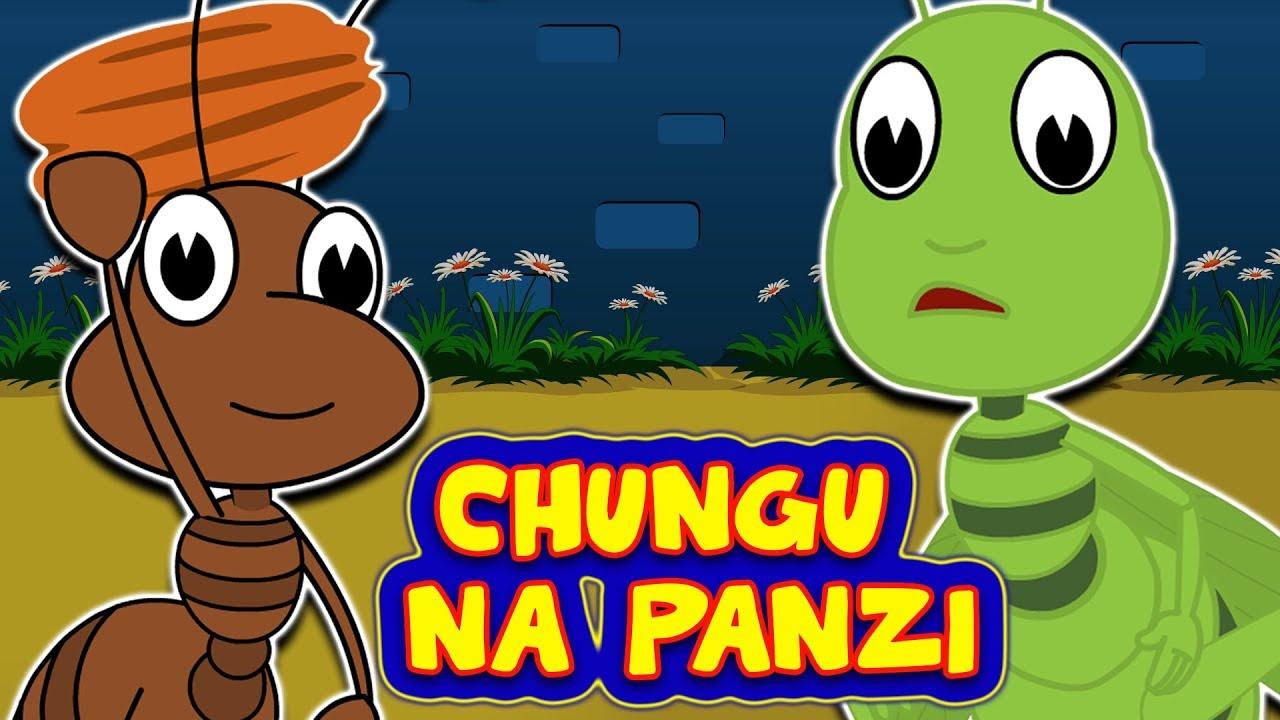 Download Chungu na Panzi | Hadithi za Kiswahili za Watoto | The Ants and the Grasshopper Swahili Fairy Tale