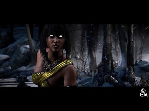 Mortal Kombat X Tanya Bloody Boots Fatality on All Characters