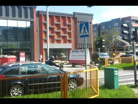 Police przebudowa Centrum Chandlowe Kinga
