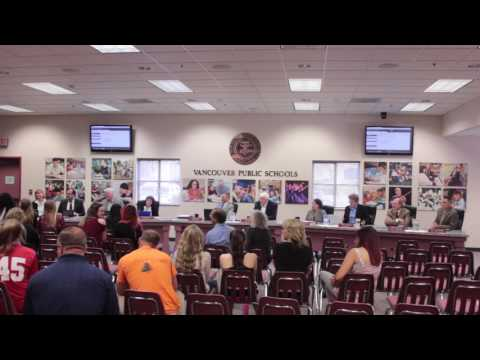Vancouver School District Board Meeting - 5/9/17