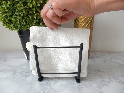 DIY Minimalist Napkin Holder   Home Décor