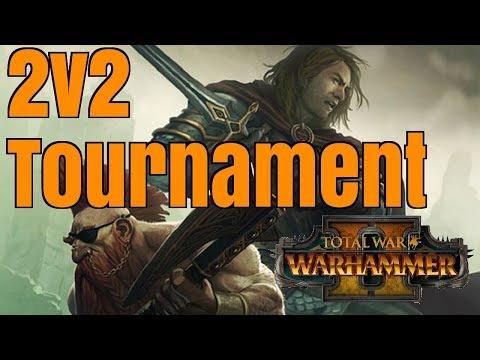 Gotrek & Felix 2v2 Team Tournament Series | Total War: Warhammer 2 - WEEK 1