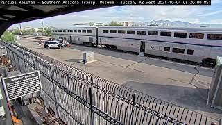 Surveillance video shows Tucson train shooting that killed DEA agent