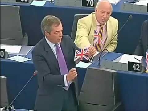 UKIP Nigel Farage gives a lesson to Barroso about liberty - May 2011