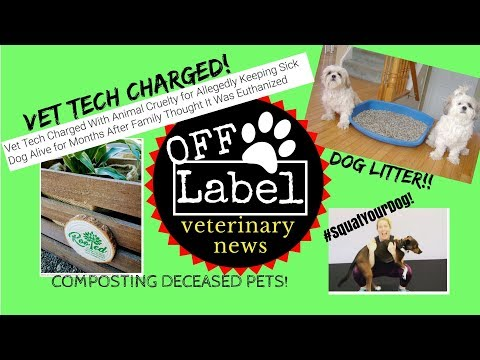 Dog Litter, Composting Deceased Pets, #SquatYourDog, Vet Tech Takes Dog Scheduled for Euthanasia
