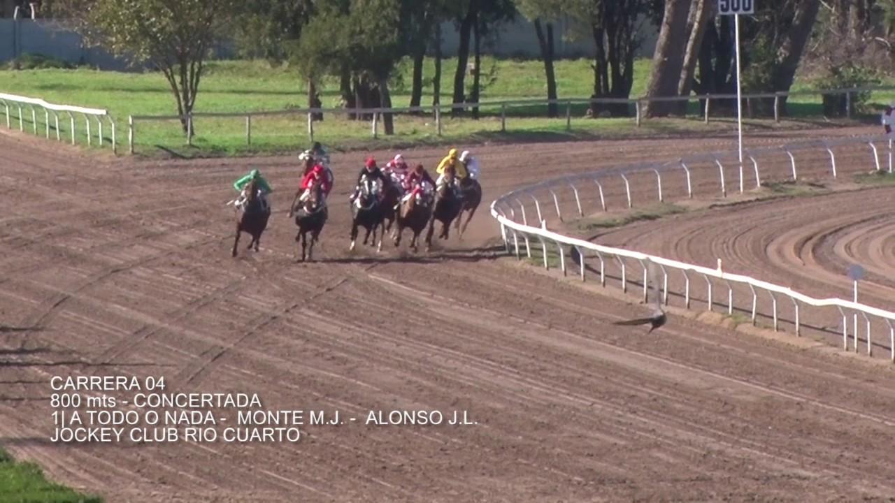 Carrera 04 21 De Mayo Jockey Club Rio Cuarto