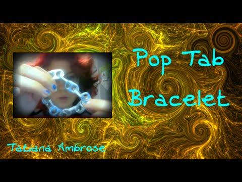 Pop Tab Chain Link Bracelet Tutorial: Soda Can Tab Craft