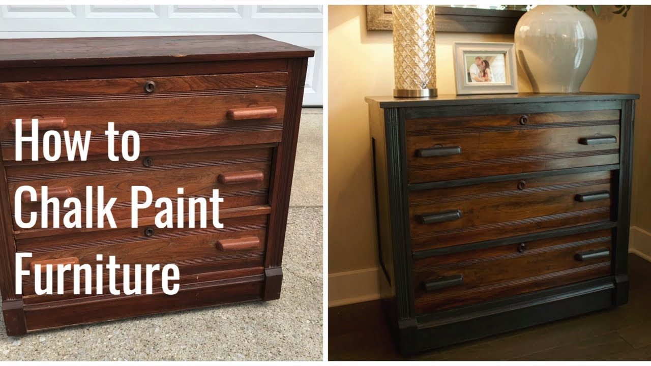How To Paint And Distress Furniture