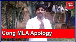 Congress MLA JN Ganesh Apologises For Fist-Fight With Anand Singh At Eagleton Resort