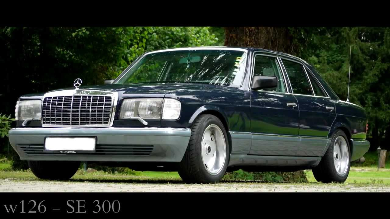 Mercedes benz w126 300 se youtube for Mercedes benz w126