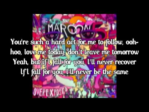 Maroon 5 - Love Somebody (lyrics)