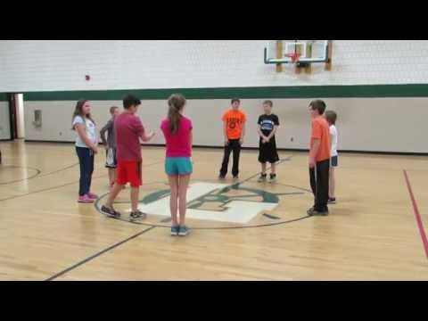 Laker sixth graders learn to square dance