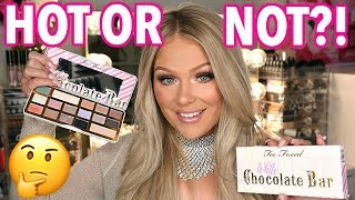 NEW TOO FACED WHITE CHOCOLATE BAR PALETTE FIRST IMPRESSIONS + TUTORIAL