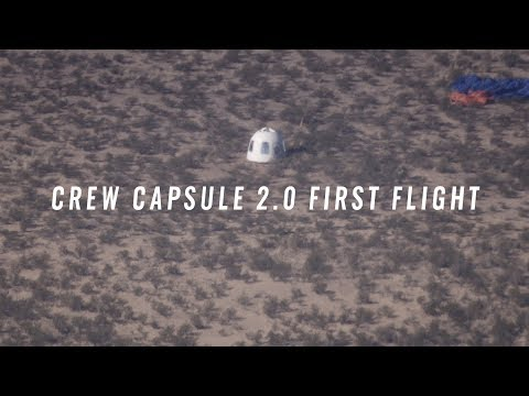 Crew Capsule 2.0 First Flight
