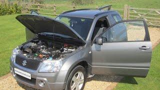 2007 Suzuki Grand Vitara vvti grey 3 door