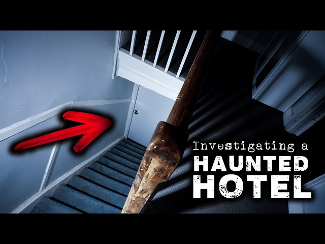 We Experienced PARANORMAL ACTIVITY in a Haunted Hotel | Mount Remarkable Hotel Part 2