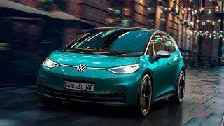 2020 Volkswagen ID.3 Electric Car- Exterior, Interior, Driving